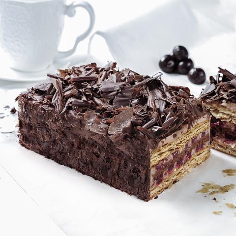 黑森林拿破仑蛋糕